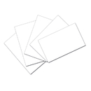 Pacon PAC5141 White 3X5 Unruled Index Cards 100Pk