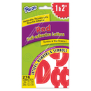 Pacon PAC51659 Self Stick Red Letters Numbers And - Symbols