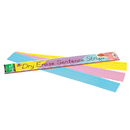 Pacon PAC5186 Dry Erase Sentence Strips Assorted 3 X 24