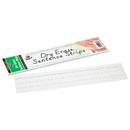 Pacon PAC5187 Dry Erase Sentence Strips White 3 X 12