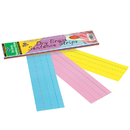 Pacon PAC5188 Dry Erase Sentence Strips Assorted 3 X 12