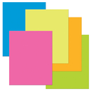 Pacon PAC53051 Heavy Poster Board Neon Assortment