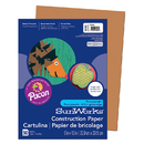 Pacon PAC6703 Construction Paper Brown 9X12