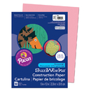 Pacon PAC7003 Construction Paper Pink 9X12