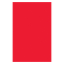 Pacon PAC72740 Plastic Art Sheets 11X17 Red