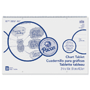 Pacon PAC74630 Chart Tablet 1 Inch Rule 24X16