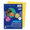 Pacon PAC8403 Sunworks 9X12 Yellow 50Ct Construction Paper