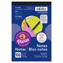 Pacon PACMMK11508BN Neon 4X6 Note Pad, 12 EA