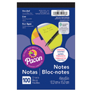 Pacon PACMMK11508 Neon 4X6 Note Pad 100Ct