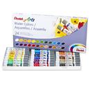 Pentel Of America PENWFRS24 24 Color Pentel Arts Watercolor Set
