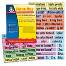 Poster Pals PSZP245R High-Freq Vocab Card Set Spanish