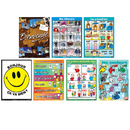 Poster Pals PSZPS57 Essential Clss Posters Set 2 French