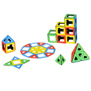 Polydron PY-501010 Magnetic Polydron Class Set