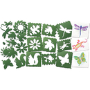 Roylco R-5615 Nature Stencils