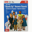 Roylco R-5905 Hands Up Dry Erase Answer Boards