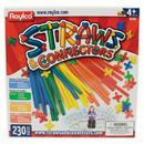 Roylco R-6085 Straws & Connectors 230 Pieces