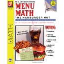 Remedia Publications REM102A Menu Math Hamburger Hut Book-1 Add & Subtract