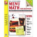 Remedia Publications REM111A Menu Math For Beginners