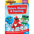 Rock N Learn RL-944 Colors Shapes & Counting Dvd