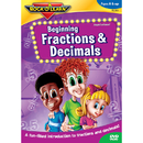 Rock N Learn RL-981 Beginning Fractions & Decimals Dvd