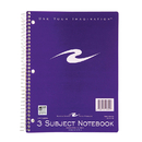 Roaring Spring Paper Products ROA10041 Spiral Notebook 3 Subject 120 Pages