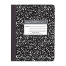 Roaring Spring Paper Products ROA77230 Marble Composition Book Black