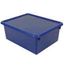Romanoff Products ROM16004 Stowaway Blue Letter Box With Lid 13 X 10-1/2 X 5