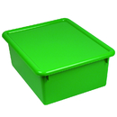 Romanoff Products ROM16005 Stowaway Green Letter Box With Lid 13 X 10-1/2 X 5