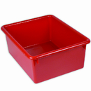 Romanoff Products ROM16102 5In Stowaway Letter Box Red No Lid 13 X 10-1/2 X 5