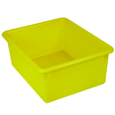 Romanoff Products ROM16103 5In Stowaway Letter Box Yellow No Lid 13 X 10-1/2 X 5