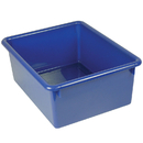 Romanoff Products ROM16104 5In Stowaway Letter Box Blue No Lid 13 X 10-1/2 X 5
