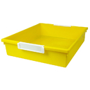 Romanoff Products ROM53503 6Qt Yellow Tattle Tray Wlabel Hold