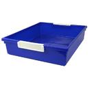 Romanoff Products ROM53504 6Qt Blue Tattle Tray Wlabel Holder