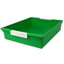 Romanoff Products ROM53505 6 Qt Green Tattle Tray W Label Hold