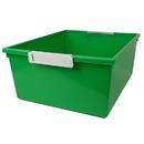 Romanoff Products ROM53605 12Qt Green Tattle Tray W Label Hold