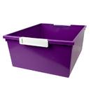 Romanoff Products ROM53606 12Qt Purple Tray W Label Hold