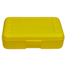 Romanoff Products ROM60203 Pencil Box Yellow