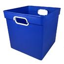 Romanoff Products ROM72504 Cube Bin Blue