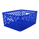 Romanoff ROM74004 Small Blue Woven Basket