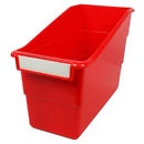 Romanoff Products ROM77202 Red Shelf File With Label Holder