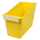 Romanoff Products ROM77203 Yellow Shelf File With Label Holder