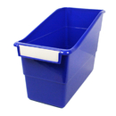 Romanoff Products ROM77204 Blue Shelf File With Label Holder