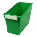 Romanoff Products ROM77205 Green Shelf File With Label Holder