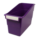 Romanoff Products ROM77206 Purple Shelf File With Label Holder