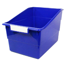 Romanoff Products ROM77304 Wide Blue File With Label Holder