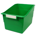 Romanoff Products ROM77305 Wide Green File With Label Holder