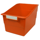Romanoff Products ROM77309 Wide Orange File With Label Holder