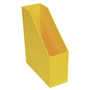 Romanoff Products ROM77703 Magazine File Yellow 9.5X3.5X11.5