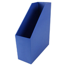 Romanoff Products ROM77704 Magazine File Blue 9.5X3.5X11.5