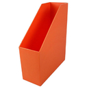 Romanoff Products ROM77709 Magazine File Orange 9.5X3.5X11.5